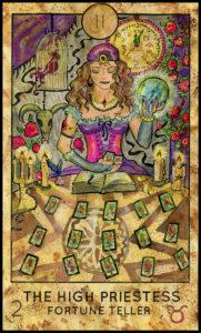 女教皇タロットカード